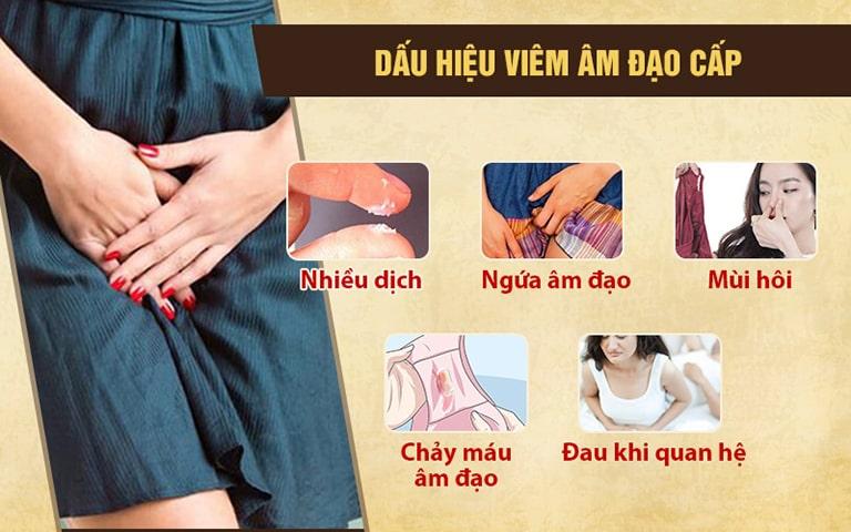 Những dấu hiệu bệnh nhẹ, dễ nhận biết ở nữ giới bị viêm nhiễm nấm, khuẩn âm đạo cấp