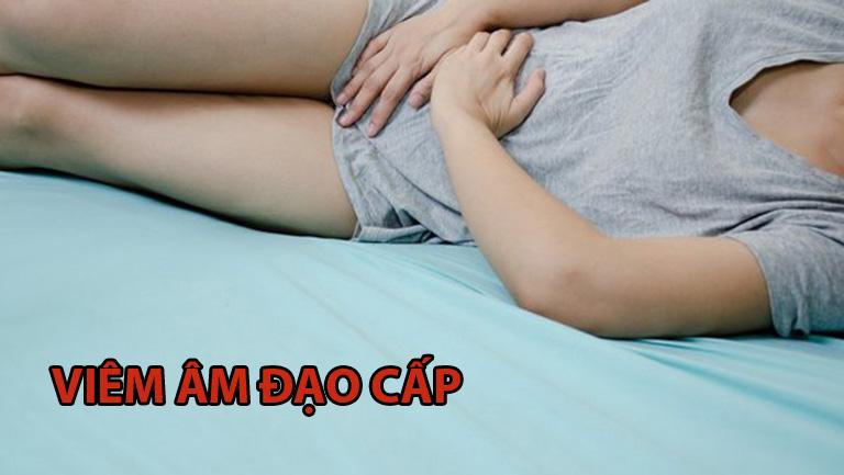 Nữ giới dễ gặp các triệu chứng viêm nhiễm cấp tính