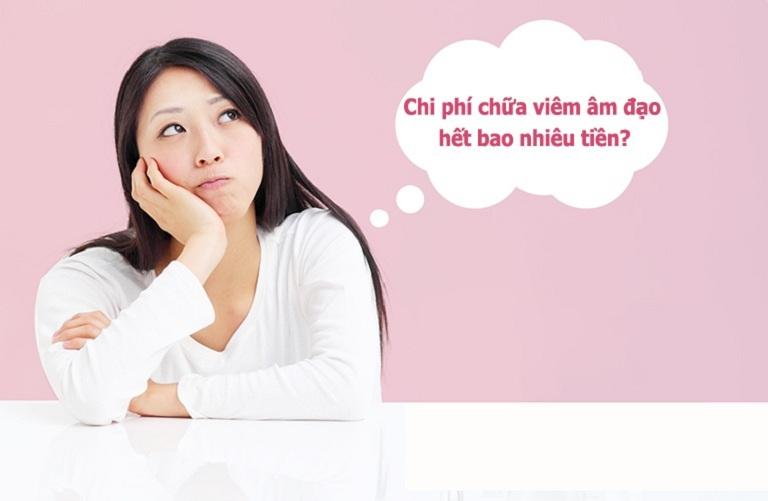 Nhiều chị em quan tâm đến số tiền phải chi trả khi thăm khám viêm âm đạo