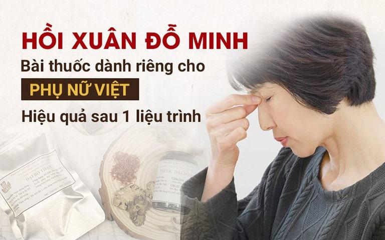 Bài thuốc Hồi xuân Đỗ Minh