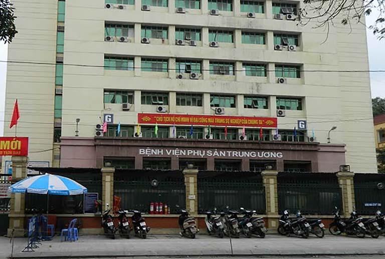 Khám tiền mãn kinh ở đâu? Bệnh viện phụ sản Trung Ương là một trong những địa chỉ hàng đầu