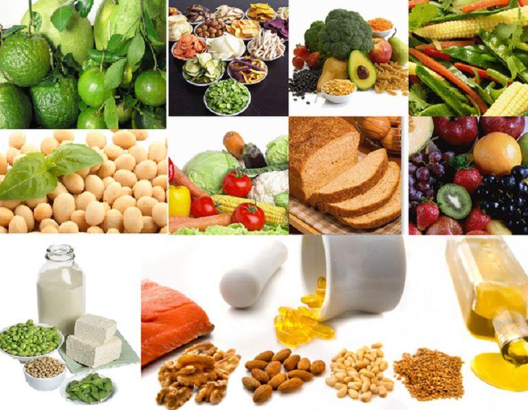 Bổ sung thực phẩm giàu estrogen để điều trị mãn kinh bị ra huyết trắng