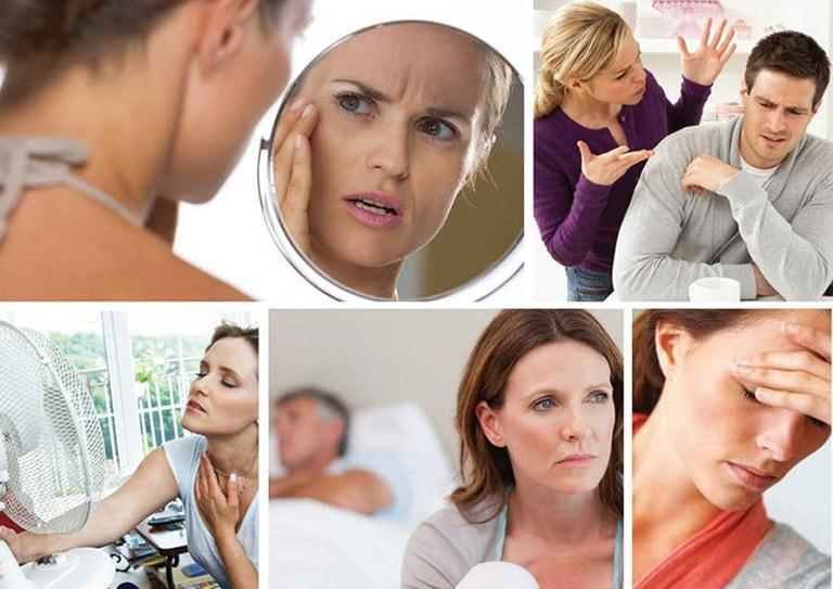 Sau 40 nồng độ estrogen suy giảm dần hết kinh