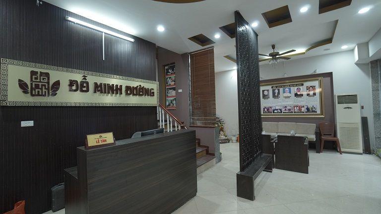 Nhà thuốc Đỗ Minh Đường có không gian khang trang, chất lượng dịch vụ tốt
