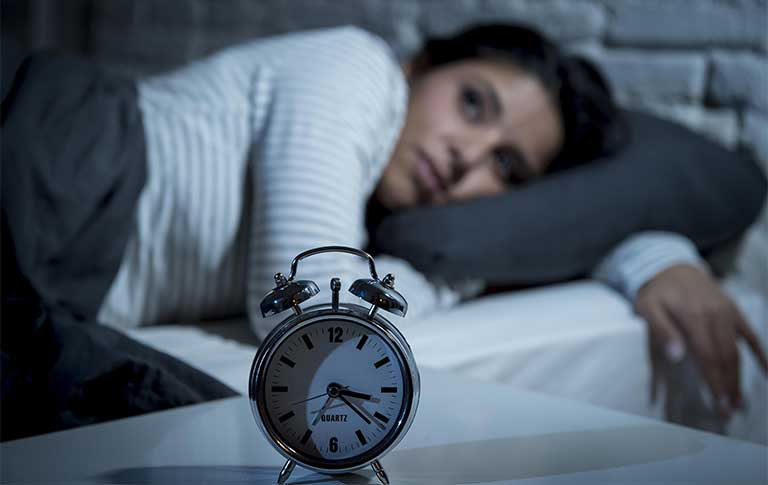 Nguyên nhân phụ nữ tiền mãn kinh bị mất ngủ