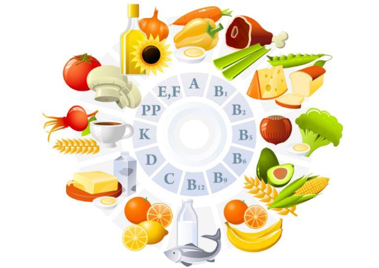 Vai trò của các loại vitamin là khác nhau nên chị em cần bổ sung đa dạng các loại thực phẩm để cung cấp đầy đủ dưỡng chất cho cơ thể