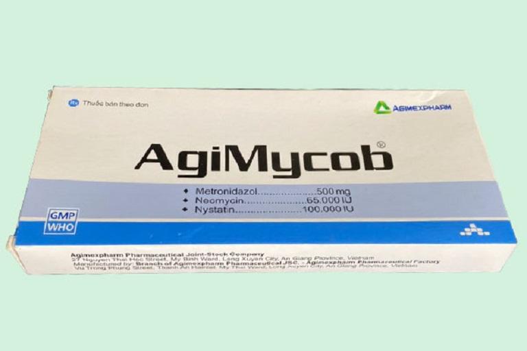 Thuốc đặt Agimycob