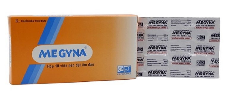 Thuốc đặt phụ khoa Megyna