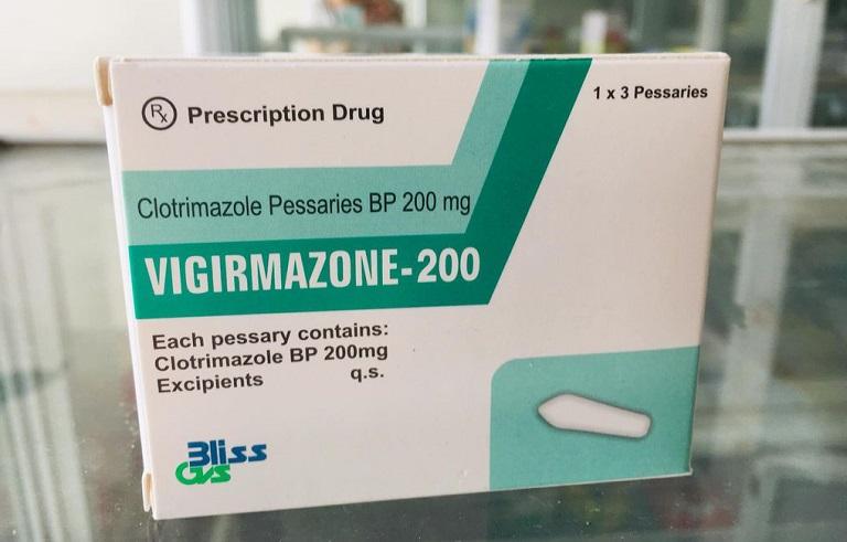 Thuốc trị viêm âm đạo Vigirmazone