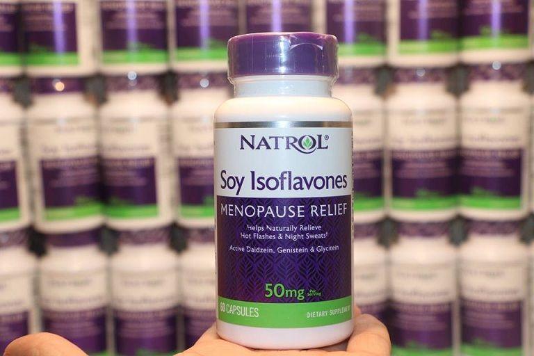 Thuốc tiền mãn kinh Natrol Soy Isoflavone