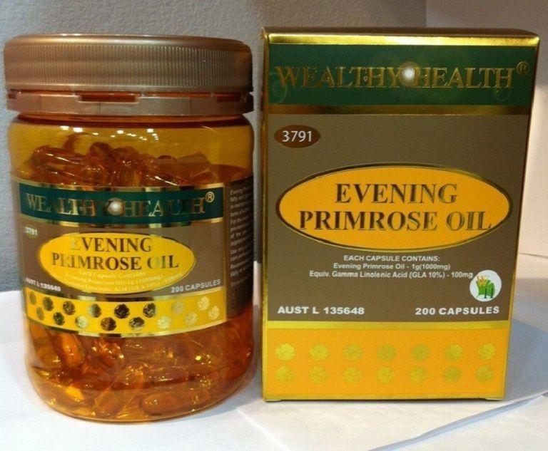 Thuốc tiền mãn kinh Evening Primrose Oil - Wealthy Health