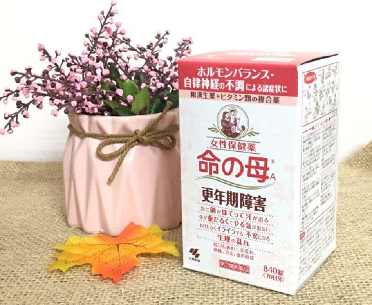 Thuốc tiền mãn kinh Kobayashi có công dụng gì khi sử dụng