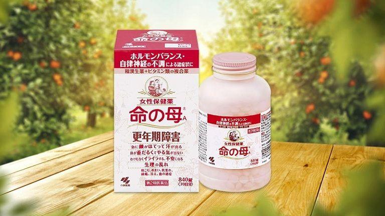 Thuốc tiền mãn kinh Kobayashi có xuất xứ từ Nhật Bản