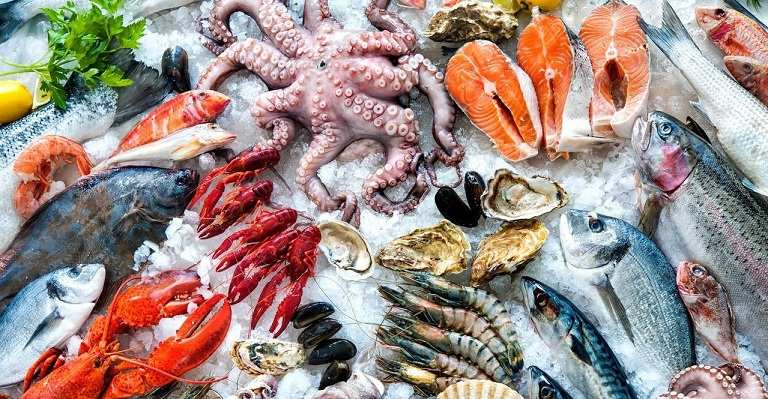 Bị viêm âm đạo nên hạn chế sử dụng hải sản