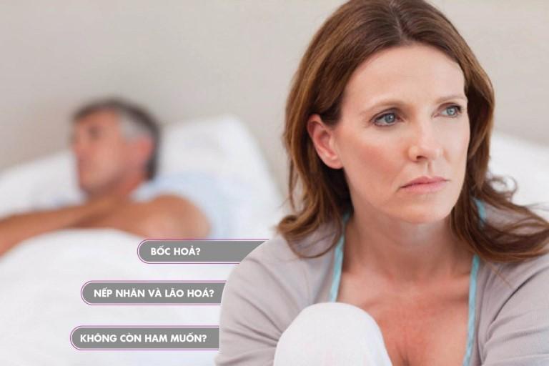 Sức khỏe phụ nữ tiền mãn kinh khác nhau với tần suất ít hoặc nhiều