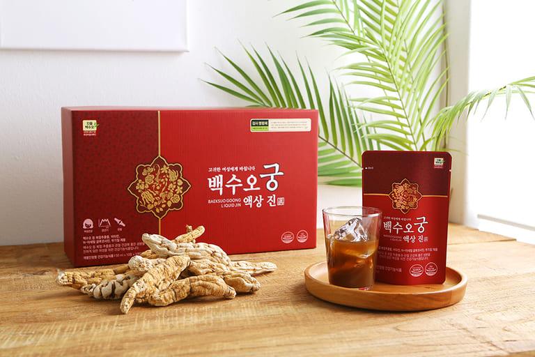 Baeksuo Goong đang được bán tại Việt Nam