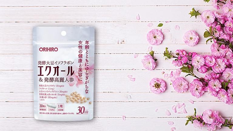 Equol Orihiro viên uống thay đổi nội tiết cho nữ giới ở độ tuổi 30+