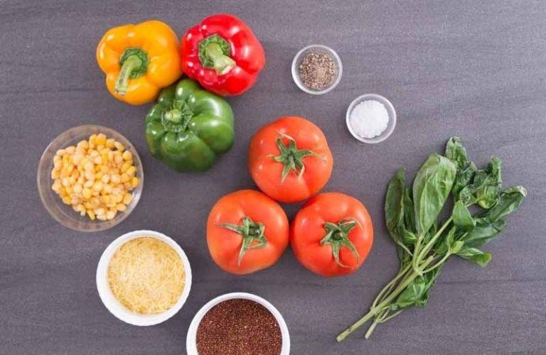 Cà chua, ớt ngọt kích thích cơ thể sản sinh hormone nội tiết