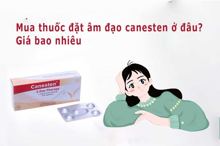 Thuốc canesten được phân phối và bán rộng rãi trên thị trường Việt Nam