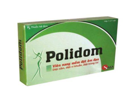 Viên đặt phụ khoa Polidom công dụng và những điều cần lưu ý khi sử dụng