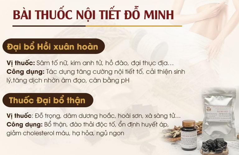 Chi tiết bài thuốc Đỗ Minh Đường