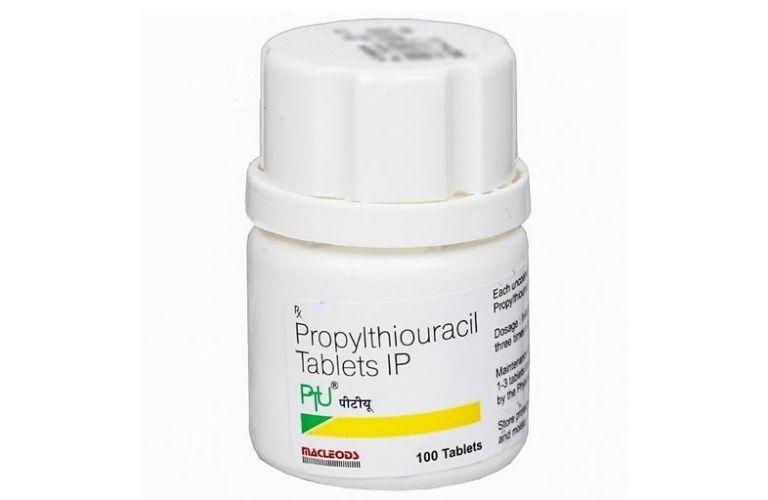 Thuốc Propylthiouracil điều trị cường tuyến giáp