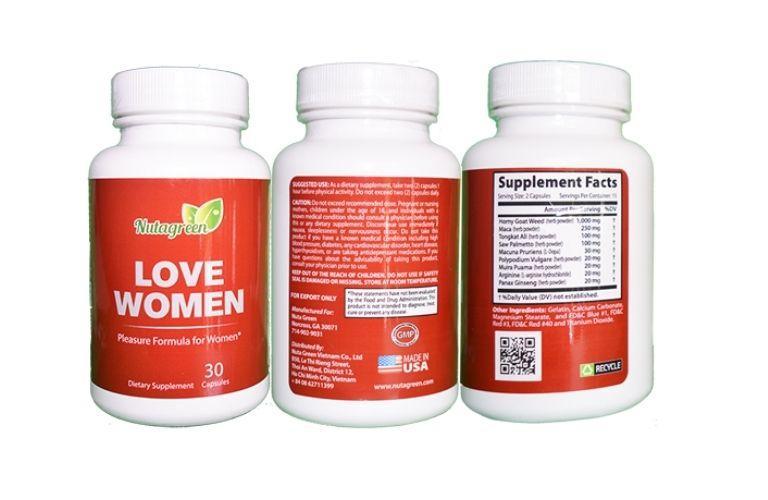 Thuốc tăng cường sinh lý nữ Love Women