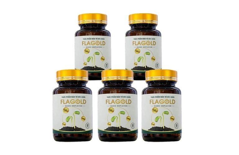 Viêm uống FlaGold tăng cường nội tiết tố nữ