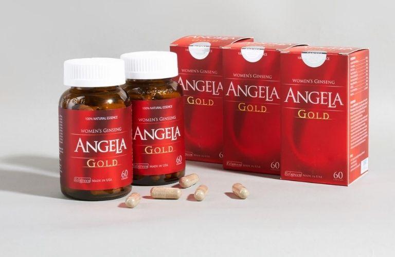Viên uống tăng cường nội tiết tố nữ - Sâm Angela Gold