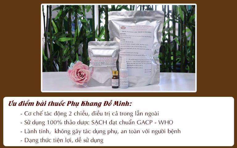Bài thuốc Phụ Khang Đỗ Minh chữa bệnh phụ khoa của Đỗ Minh Đường