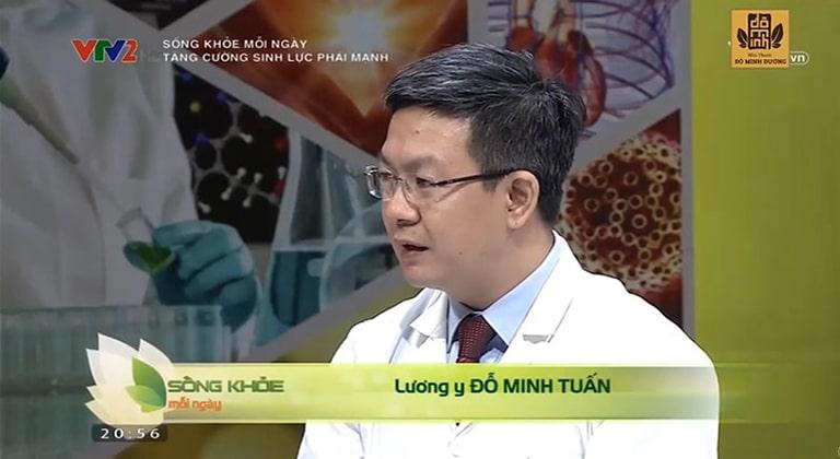 Lương y Đỗ Minh Tuấn chia sẻ bài thuốc Sinh lý nam Đỗ Minh trên VTV2