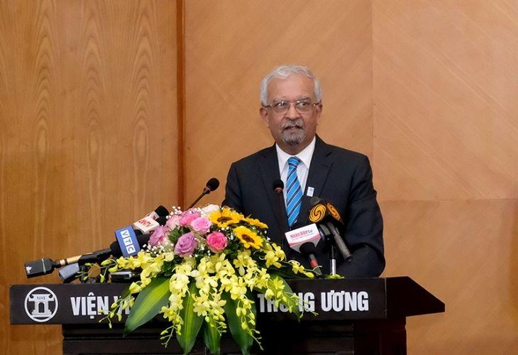 Ông Kamal Malhotra, Điều phối viên thường trú của Liên Hợp Quốc tại Việt Nam Ảnh:Trần Minh