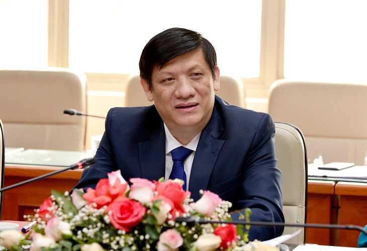 GS.TS Nguyễn Thanh Long- Bộ trưởng Bộ Y tế Ảnh:Chí Cường