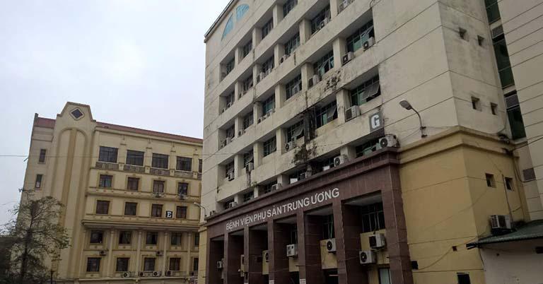 Bệnh viện Phụ sản Trung ương là một trong những cơ sở khám chữa uy tín tại miền Bắc