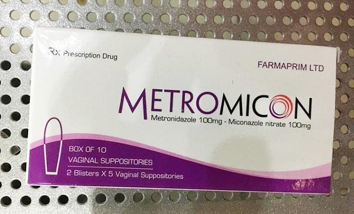 Trichomonas Metromicon là thuốc đặt chữa viêm âm đạo có tác dụng tại chỗ