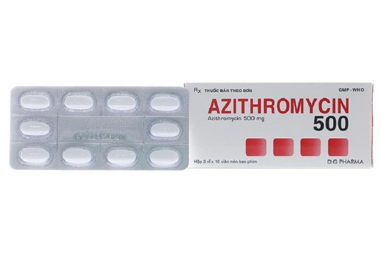 Azithromycin - loại kháng sinh hữu ích trong điều trị một số bệnh viêm nhiễm phụ khoa