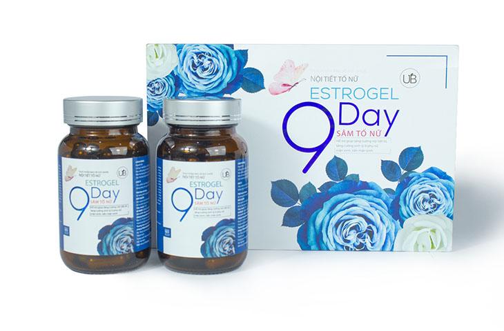 Nội tiết tố nữ 9day được điều chế từ nhiều loại thảo dược tự nhiên