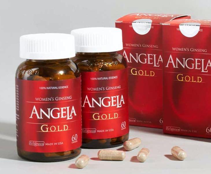 Thuốc bổ sung nội tiết tố nữ của mỹ - Sâm Angela Gold