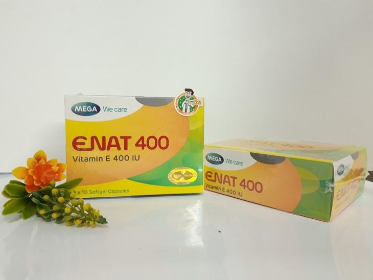 Vitamin E nội tiết viên: Enat 400