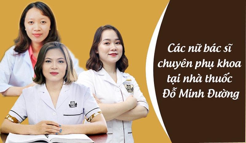 Bác sĩ nữ điều trị bệnh phụ khoa tại Đỗ Minh Đường