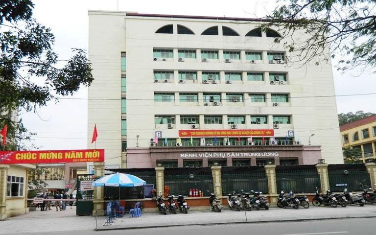 Bệnh viện Phụ sản Trung Ương - địa chỉ chữa viêm lộ tuyến cổ tử cung uy tín tại Hà Nội