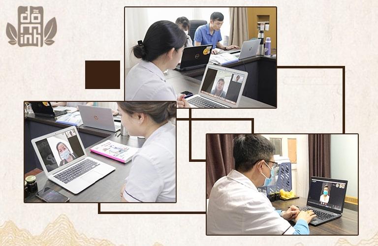 Khám bệnh trực tuyến tại Đỗ Minh Đường