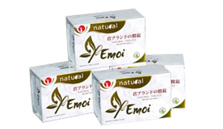 Emoi là thuốc trị viêm lộ tuyến hiệu quả từ Nhật Bản thuộc phân khúc cao cấp