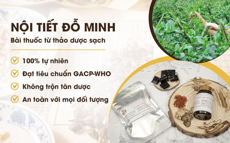 Nội tiết Đỗ Minh sử dụng 100% thảo dược sạch từ thiên nhiên