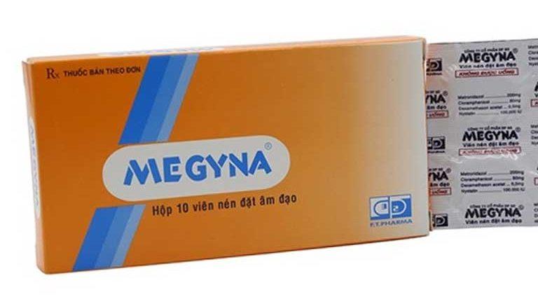 Thuốc trị viêm lộ tuyến cổ tử cung hiệu quả Megyna được nhiều chị em sử dụng